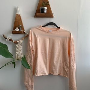 TNA cropped long sleeve